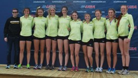 Southern Miss' women's Cross Country team finishes second overall, best finish in school history.